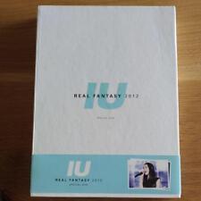 IU Real Fantasy 2012 Special Concert Official DVD + Photobook & Photocard Korea
