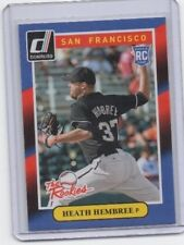 Heath Hembree  RC Rookie Card Donruss The Rookies NEXT DAY SHIP AFTER PAYMENT