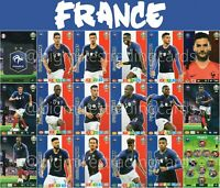 PANINI ADRENALYN XL UEFA EURO 2020 FRANCE FULL 18 CARD TEAM SET - EUROS