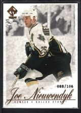 JOE NIEUWENDYK 2001/02 PRIVATE STOCK #30 GOLD STARS SP #088/106