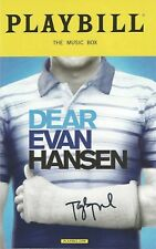 DEAR EVAN HANSEN on Broadway with TAYLOR TRENSCH signed-in-person Playbill