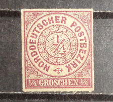 Germany Norther Confederation  state stamp #1 mint OG XF