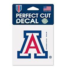"Arizona Wildcats 4"" x 4"" Logo Truck Car Auto Window Die Cut Decal New Team Color"
