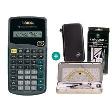 TI 30 XA Taschenrechner + Schutztasche und GeometrieSet