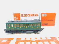 BY166-0,5# Fleischmann H0/DC 5093 Personenwagen/Abteilwagen 55579, sehr gut+OVP