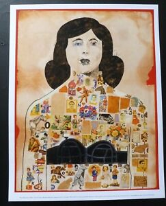 PETER BLAKE Tattooed lady   MINI ART PRINT POSTER