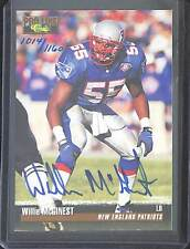 1995 Classic Games Pro Line Auto Willie McGinest No 1014 of 1160