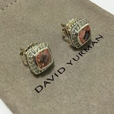 David Yurman Morganite Sterling Silver Fine Earrings
