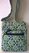 Vera Bradley Daisy Floral Flower Blue & Green Crossbody Bag Purse – Retired