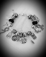 Bead Charm BRACELET Harry Potter Inspired Film Solemnly Swear I Am Up To No Good
