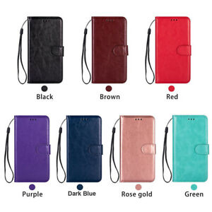 Magnetic Leather Flip Wallet Phone Case Cover Fit For Apple iPhone 8Plus