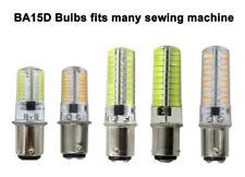 BA15D B15 2.6W/4W/5W 64/72/80Led SMD LED Bulb Fit Sewing machine/Vacuum cleaner