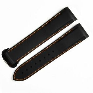 Fit for Omega Seamaster 232 300,Aqua Terra,19 20 21 22mm Rubber Watch Band Strap
