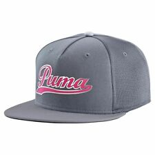 Puma Golf Script Snapback Adjustable Cap Hat - Multiple Colors OSFM