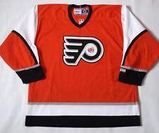 Vintage Philadelphia Flyers CCM Maska Air Knit  Jersey Size XL