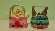 Disney Aurora Sleeping Beauty 3 Godmothers Purse Bags Ornaments Set Of 2