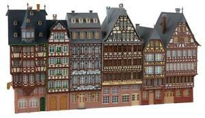 FALLER 190077 Set 6 City Houses Timber-Frame Home Römerberg New Boxed °