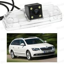 4 LED Car Rear View Camera Reverse Backup CCD for Skoda Superb Combi 2013-2015