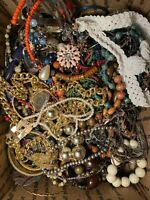 4 LBS! - Lot of Costume Jewelry - UNSEARCHED, UNTESTED, Vintage to Modern