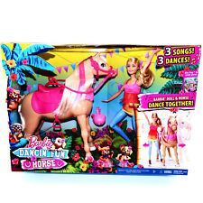 Barbie Equestrian Doll & Horse Dance Together Fun 3 Songs Playset Toys Girls 3 4