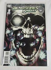 Blackest Night 1A Reis Variant 2009 Marvel Comic Book