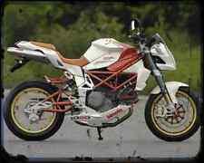 Bimota Db6C 1098 A4 Metal Sign Motorbike Vintage Aged