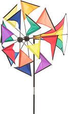 HQ vento gioco Windmill illusione Rainbow Decorazione Giardino