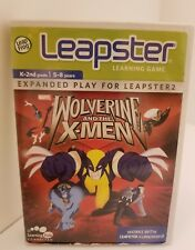 Leapster Learning Game Marvel Wolverine and the X-Men Expanded Play Leap Frog