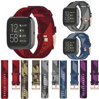 Bande de Montre Strap Bande en Nylon 23mm pour Fitbit versa/versa2/versa lite