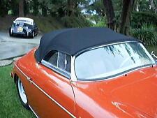 Porsche 356 Speedster opening side windows.