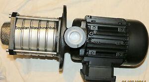 Eintauchpumpe Kühlmittelpumpe Edelstahl 80 Lt /min Höhe 60 m /  Art.-Nr.HCA 06
