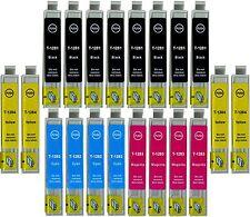 KIT 20 CARTUCCE COMPATIBILI EPSON STYLUS T1281 SX125 SX130 SX230 SX235W BX305