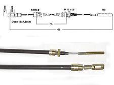 Bremsseil mit Öse 18x7 für Knott  1000mm HL,  Anhänger Bowdenzug Seilzug (90060)