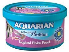 Genuine Aquarian PESCI TROPICALI CIBO INVERNALE 200g Acquario Acquario Scaglie