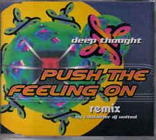 Deep Thought-Push the feeling on cd maxi single