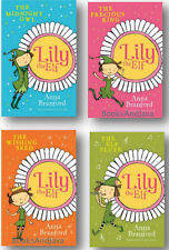 Lily the Elf 1-4 (pb) Precious Ring,Wishing Seed,Owl,Elf Flute Anna Branford NEW