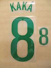 Sporting Id Kaka 8 Brasil Camiseta Jugador Tamaño Pu Set impresión 2011/2012