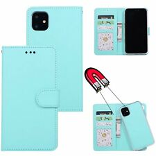 Detachable Wallet Leather Flip Case Cover For iPhone 12 11 Pro 7 8Plus XR XS Max