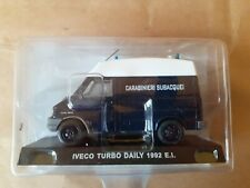 Modellino Die Cast Carabinieri IVECO TURBO DAILY 1992 E.I 1:43 NUOVO