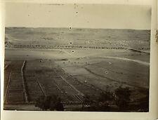 PHOTO ANCIENNE - VINTAGE SNAPSHOT - TAOURIRT JARDINS MILITAIRES MAROC 1911