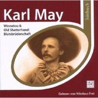 NIKOLAUS FREI - ESPRIT HÖRBUCH-KARL MAY-WINNETOU & OLD SHATTERHAND  2 CD NEU