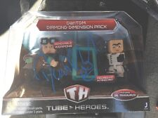 Dan TDM Signed Tube Heros Figurine Mine Craft Rare JSA You Tube D2