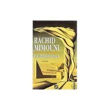 LA MALEDICTION de Rachid MIMOUNI chez EDDIF 1993 TUNIS