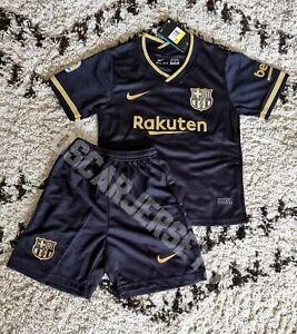 Ensemble enfant kids FC Barcelone 2021 Extérieur Nike Home maillot short jersey