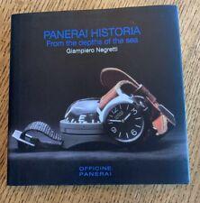 Paneria Historia Watch Book - Officine Panerai
