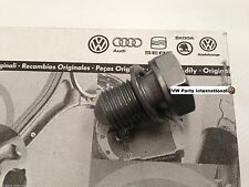 VW GOLF MK4 MK5 MK6 MK7 Oil Sump Plug and Washer Genuine VW Parts