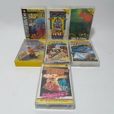 7x Sinclair ZX Spectrum Game Lot Tomb Of Syrinx Ghost Hunters Con Quest & More