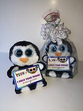 """TY PENNI 4"""" PEEK-A-BOOS SMART PHONE HOLDER IN CELLO-NEW WITH A TAG *ADORABLE*"""