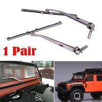 Metal Windscreen Wipers Blades for 1/10 RC Traxxas TRX4 Land Rover Defender Car