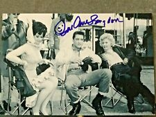 ELVIS PRESLEY - CO-STAR - SUE ANN LANGDON HAND SIGNED PHOTO - 100% AUTHENTIC